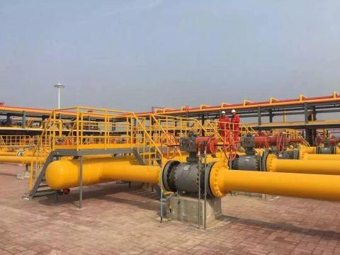 濮阳这个地方建成华东最大的储气库