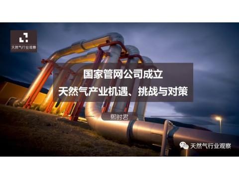 深度|国家管网公司成立,中国天然气产业链机遇、挑战与对策