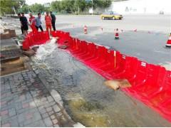 地下室挡水板ABS直角型挡水板防洪红色塑料挡水板图片