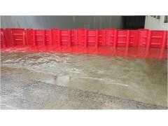 车库红色挡水板 地下通道防洪板 铝合金组合式防汛挡水板