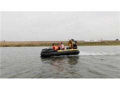 就是这么给力!水中霸王龙抢险救援气垫船的工作原理