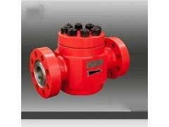 厂家供应高压API-6A单流阀石油阀门