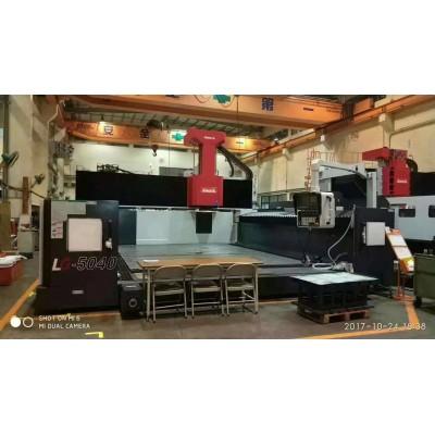 台湾亚崴天车式龙门加工中心LG-5040规格