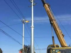 湖北10kv电力钢杆35kv电力钢管杆110kv电力钢管塔