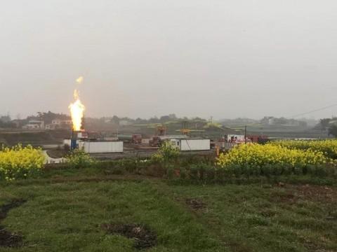 四川泸州钻遇高产大气田,日产上百万方的超级页岩气井诞生